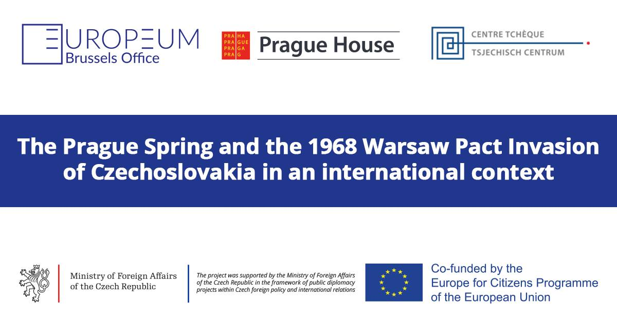 INVITATION: The Prague Spring and the 1968 Warsaw Pact